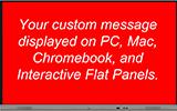 visual communication menu icon